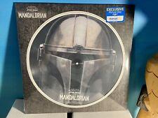 Mandalorian Star Wars Walmart Picture Disc Vinyl LP Mando Baby Yoda