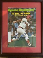 Fred Lynn Signed Sports Illustrated Magazine Autographed