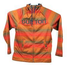 Burton Snowboard Hoodie Mens Medium Full Zip Jacket M