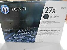 HP LaserJet 27X Black Toner 4000 4050 New Open Box Sealed Pkg