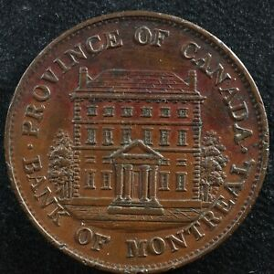 Halfpenny token Canadian Colonial #7 Free shipping Canada and the USA Week #19