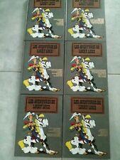 Lucky Luke intégrale luxe - Hachette / Dargaud 1990 - 6 volumes B C D F G K