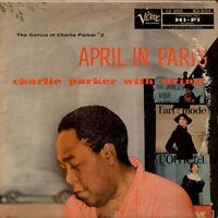 Charlie Parker With Strings - April In Paris (Vinyl LP - 1955 - US - Reissue)
