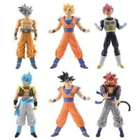 Dragon ball Figure Set Generations 6pcs: Goku Super Saiyan God Vegeta Gogeta