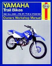 HAYNES SERVICE REPAIR MANUAL YAMAHA XT225 1995-2000 & XT350 1985-2000 1999 1998