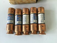 BUSSMANN FRN-R-6 FUSETRON BUSS COOPER FRNR6 *LOT OF 5 FUSES IN A NEW BOX*