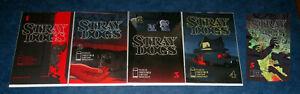 STRAY DOGS #1 2 3 4 5 1st print COMPLETE set iMAGE COMIC 2021 Tony Fleecs NM HOT
