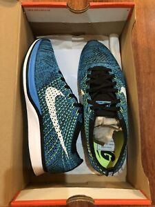 Nike Flyknit Racer 'Blue Glow / Volt'