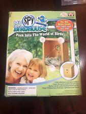 My Spy Birdhouse As Seen On Tv Peek Into The World Of Birds