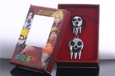 Soul Eater Death The Kid Cosplay Ring Necklace Set