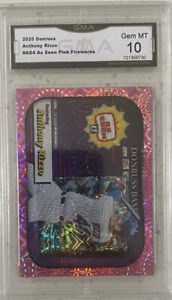 Anthony Rizzo 2020 Donruss As Seen On TV Pink Fireworks GMA 10 Mint 🔥 Not PSA