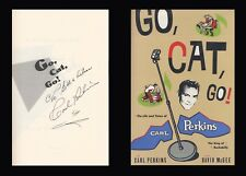 CARL PERKINS Autographed Signed Book Go, Cat, GO! Rock and Roll
