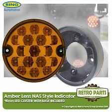 95mm Ámbar LED Lente Luz Indicadora Mejora Land Rover Defender Nas Incluyendo