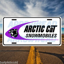 Arctic Cat snowmobiles vintage style license plate 3