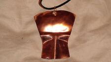 Tlingit hand Hammered Copper Tinnah Necklace By: Tlingit artist Garrett Jackson