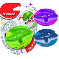 Maped Sacapuntas Galáctico - 1 agujero Bote Sacapuntas, varios colores