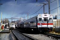 Lot of 3 Original Slides SEPTA Railroad 240 9131 2307 Pennsylvania 1983-1992