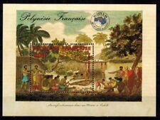 Timbres de France bloc feuillet N° 10 de Polynésie  neufs **