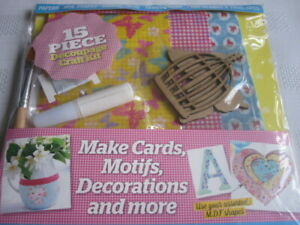 **Craft Room Clear Out**  -  Decoupage Craft Kit