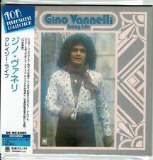 Rare Gino Vannelli Crazy Life Mini-lp CD OOP Japan UICY-93108