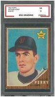 GAYLORD PERRY 1962 TOPPS #199 ROOKIE ~ BSG 3