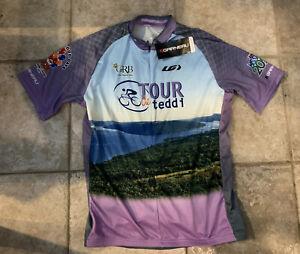 Louis Garneau Men's Maillot Tour Jersey Size XL New