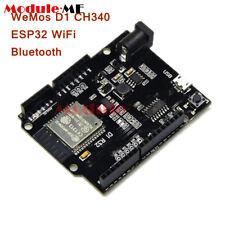 ESP32 WiFi+Bluetooth+UNO WeMos D1 R32 4MB Flash CH340 Board for Arduino UK