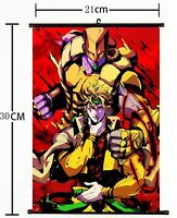 Anime Jojo JoJo's Bizarre Adventure Jotaro Wall Poster Scroll Home Decor 503