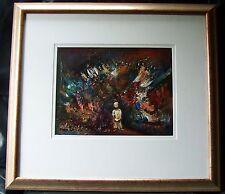 Original Australian Oil Painting by Tamara Beckier - Spirit Infinite