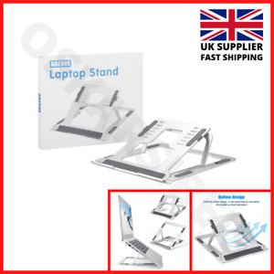 Adjustable Laptop Bed Table Stand Lap Tray Foldable Computer Desk Holder 𝗡𝗘𝗪