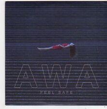 (FF995) AWA, Feel Safe - 2014 DJ CD