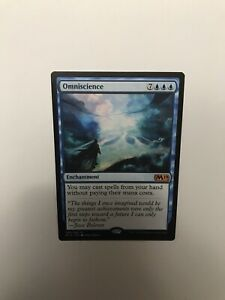 Omniscience x1 M19 Core Set 2019 065/280 Magic: The Gathering NM/M
