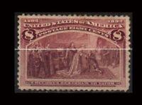 United States  Sc 236  Mint  HR  GOOD CENTER  VF