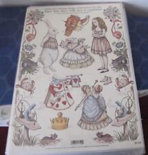 New Alice In Wonderland John Tenniel Paper Dolls antique replica reproduction