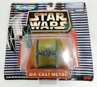 MICRO MACHINES DIE CAST STAR WARS TIE FIGHTER ON BUBBLE CARD 1996