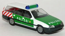 Herpa 043021 Opel Omega A Caravan Kombi Polizei Autobahnpolizei grün 1:87 H0