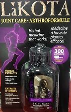 LAKOTA JOINT CARE 300 CAPSULES HERBAL MEDICINE THAT WORKS