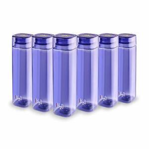 Plastic Fridge Refrigerator Water Bottle Set- 6 pieces, 1 L