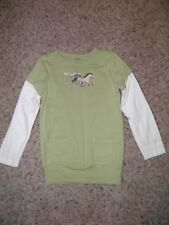 """GYMBOREE """"Cowgirls at Heart"""" Horse Layer Pocket Top Size 5"""