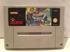 Spider Man X Men Nintendo Super NES SNES Pal Loose