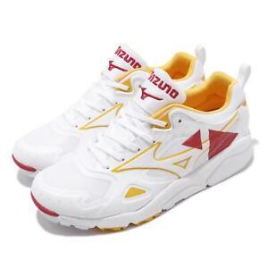 Mizuno Sky Medal White Red Yellow Men Running Sportstyle Shoes D1GA2009-62