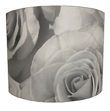 Muriva Madison Rose HFD8063 Soft Grey Feature Wall Wallpaper Lampshades.