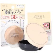 Kanebo Japan Media BB Powder (10g/0.3oz.) Spf25 PA With Case Mirror Puff Set 01 Light