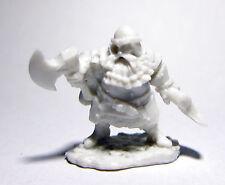 1 x HAGAR HERO NAIN - BONES REAPER figurine miniature rpg d&d dwarf hero 77482