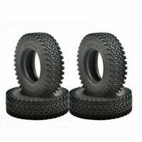 4Pcs 1.9 Inch OD Tire Tyre for 1/10 RC Wheel Rims RC4WD SCX10 D90 Crawler Model