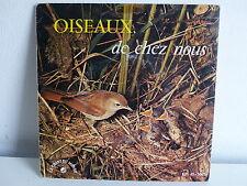 Oiseaux de chez nous Dr Henri Ulrich Bruitage EP 45 5003