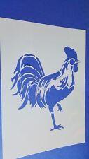 Schablonen 271 Hahn Wandtattoos Stencil Wandbilder Airbrush Wanddekoration Mylar