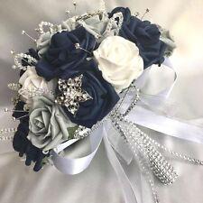 WEDDING FLOWER PACKAGE, BRIDES POSY, BRIDESMAIDS, BUTTONHOLE CORSAGES ARTIFICIAL