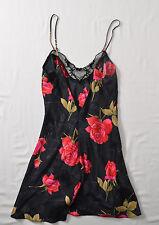 Victoria Secret Womens Silk Cami Top Floral Strap Small