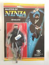 Rare Master Of Ninja Acticulated Action Figure - Like Knock Off Remco moc FET 1